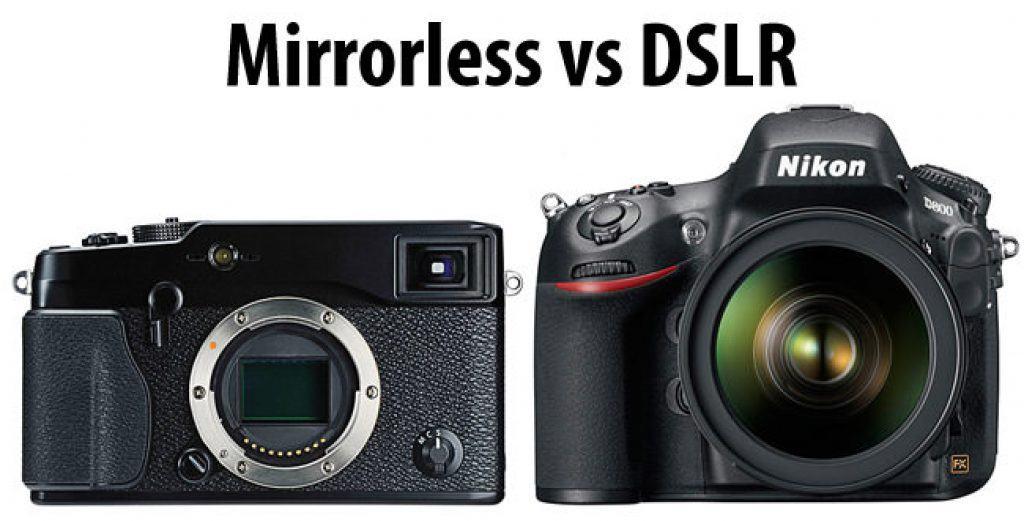 chọn máy ảnh dslr hay máy ảnh mirrorless