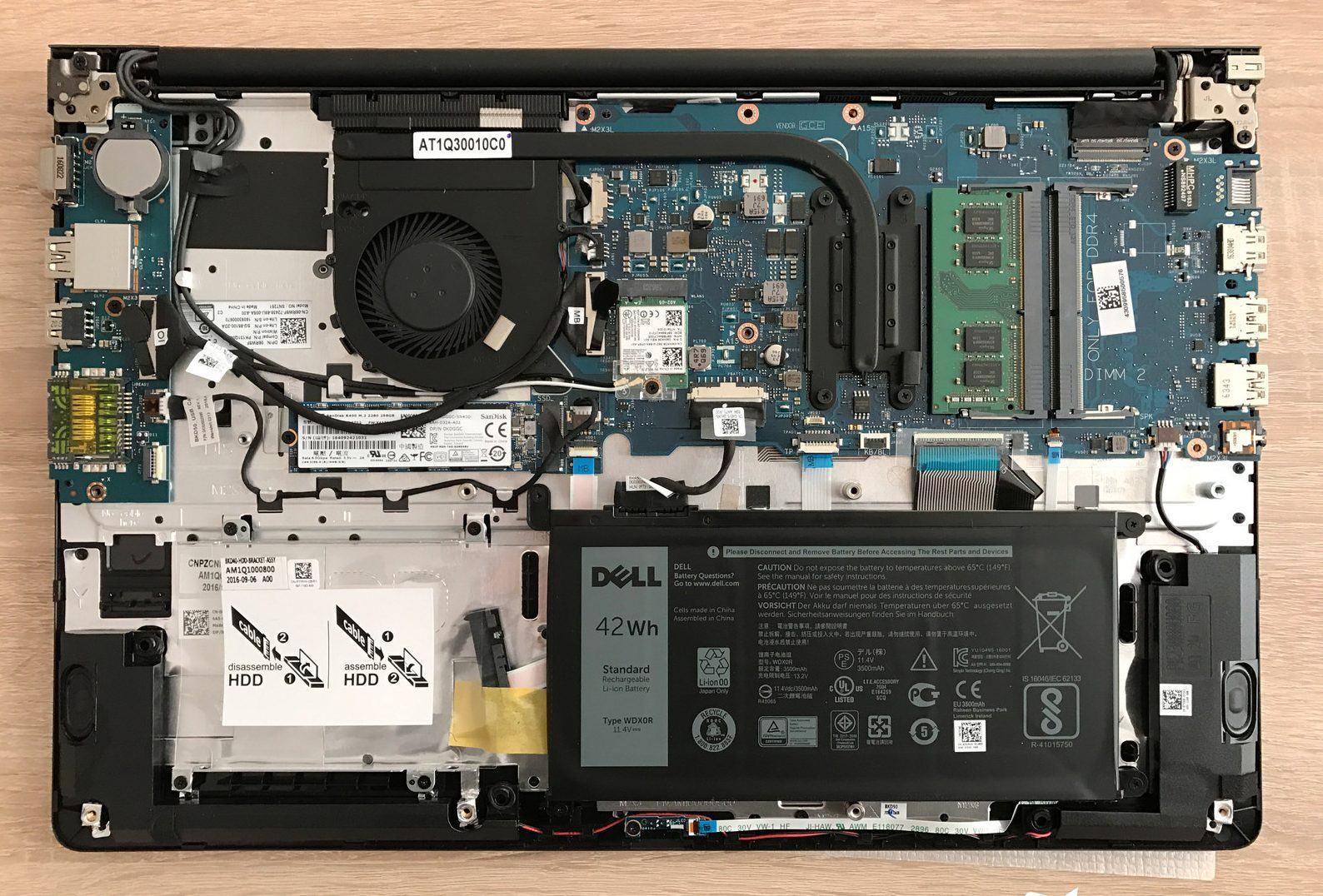 đánh giá laptop dell Vostro 5581