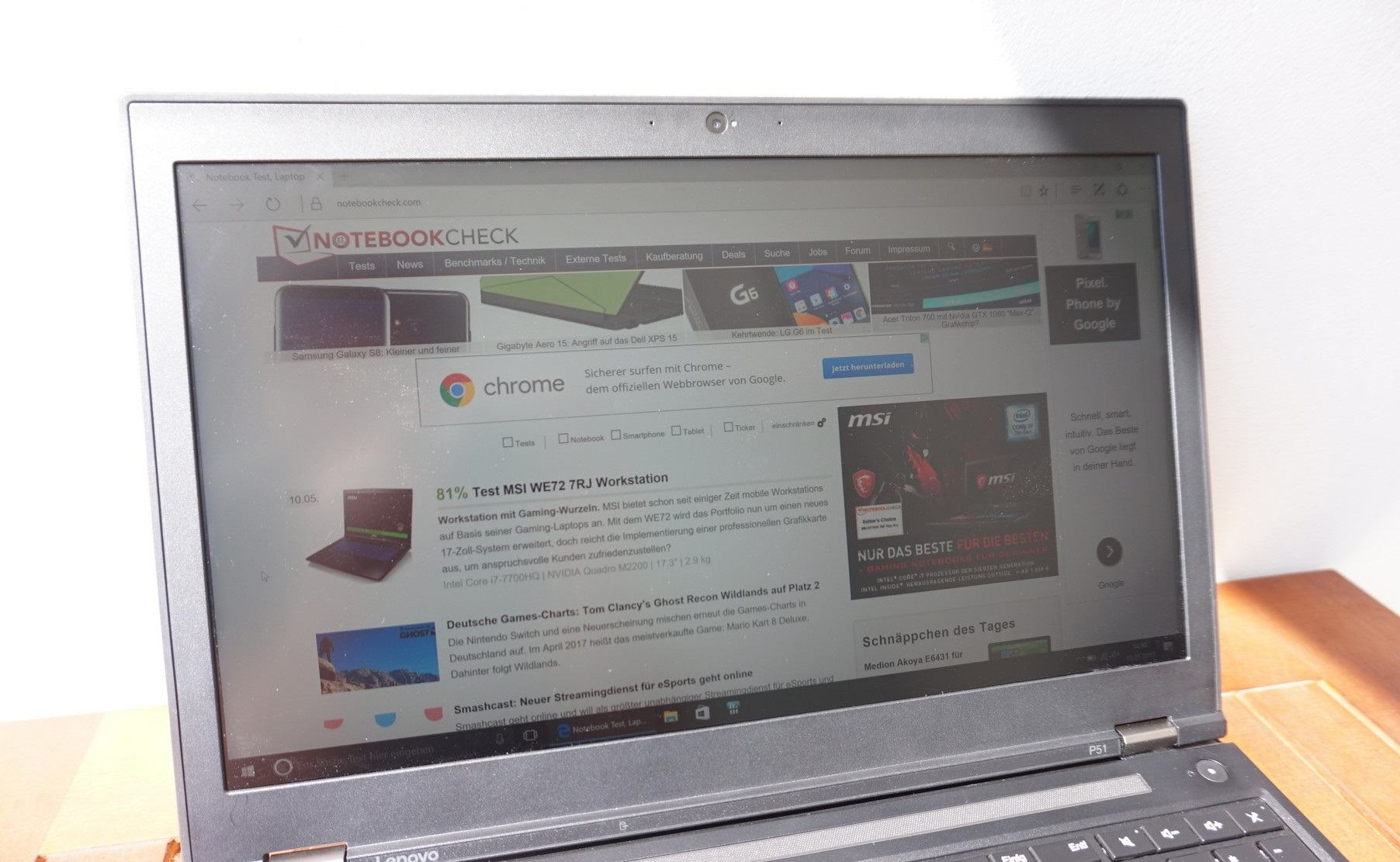 đánh giá laptop lenovo thinkpad p51