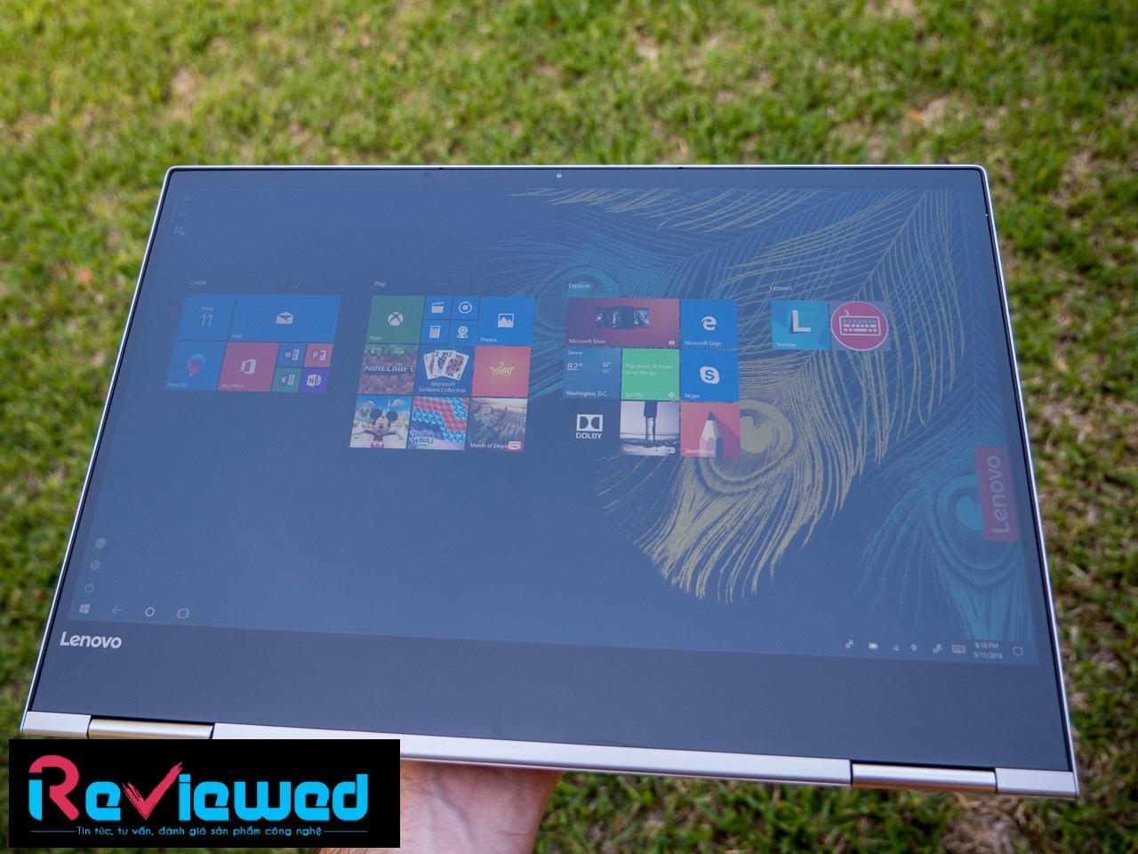 đánh giá laptop Lenovo Yoga 730-13IKB
