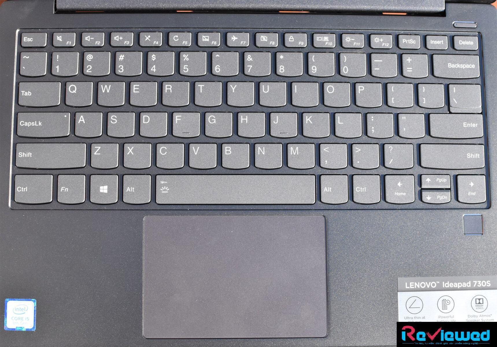 laptop Lenovo IdeaPad 730S
