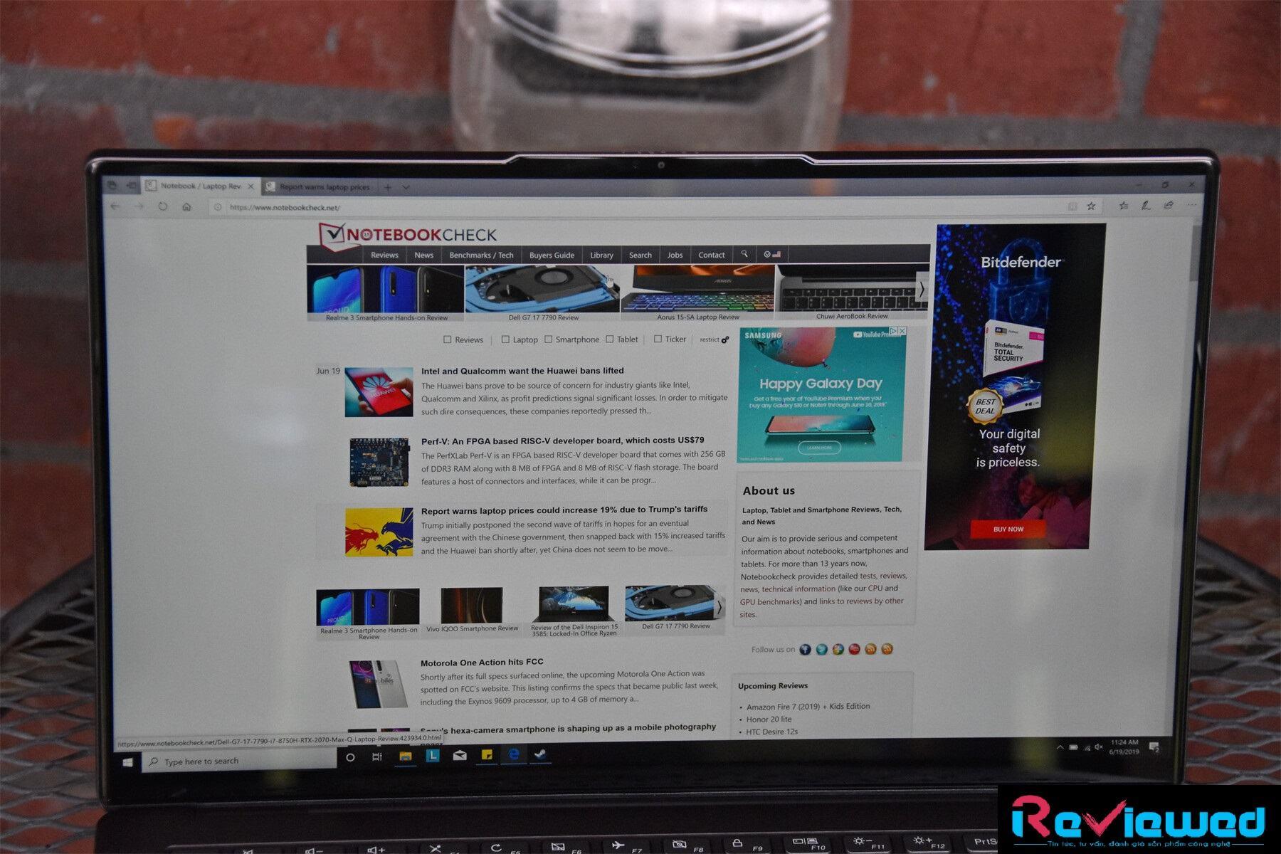đánh giá laptop Lenovo IdeaPad S940