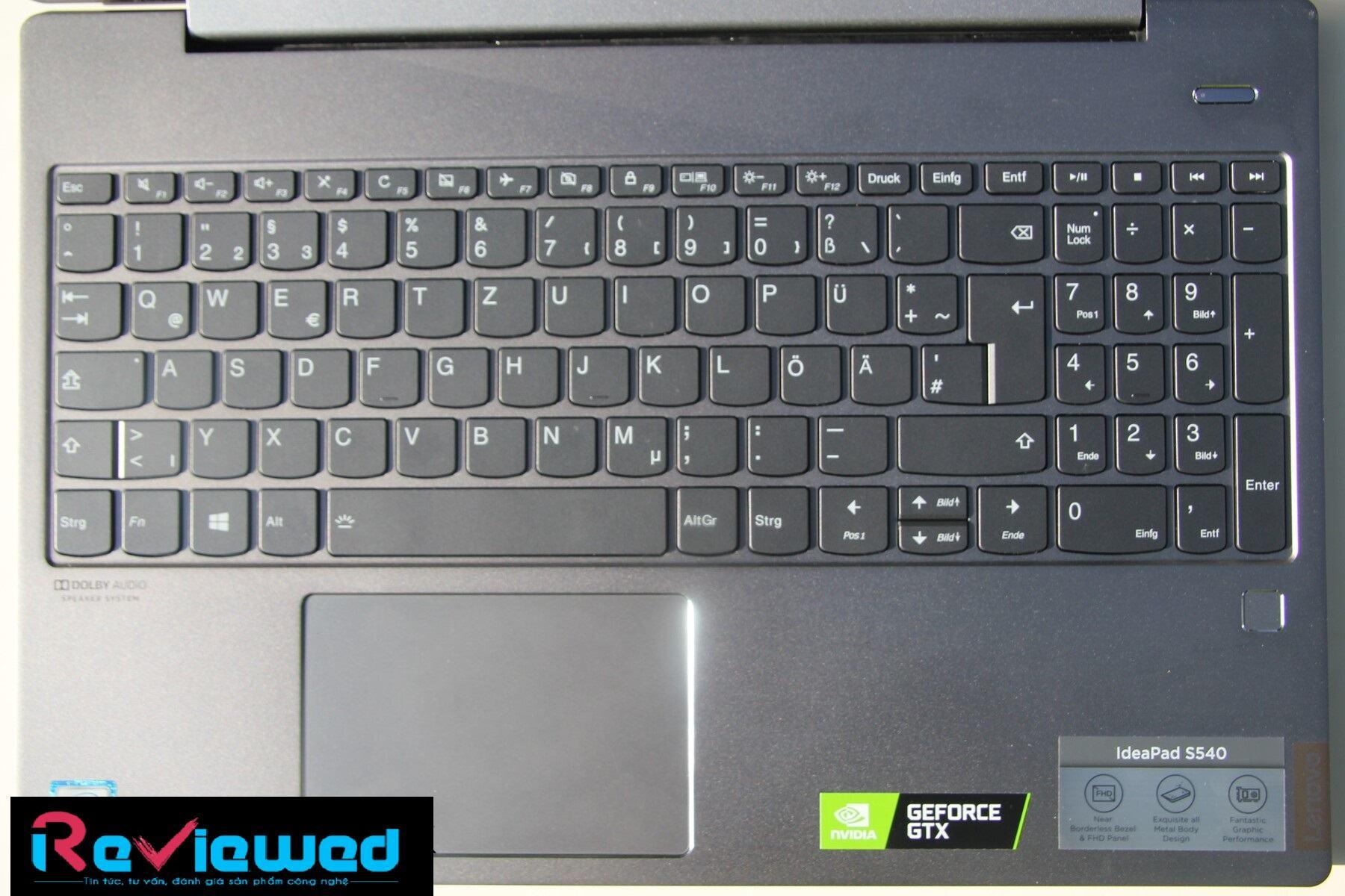 đánh giá Lenovo IdeaPad S540-15IWL