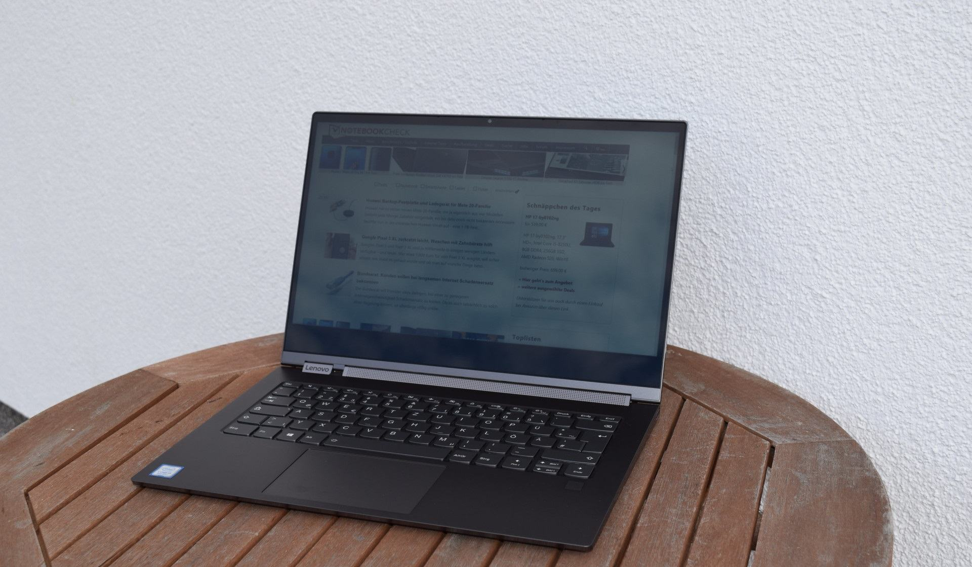 review laptop Lenovo Yoga C930