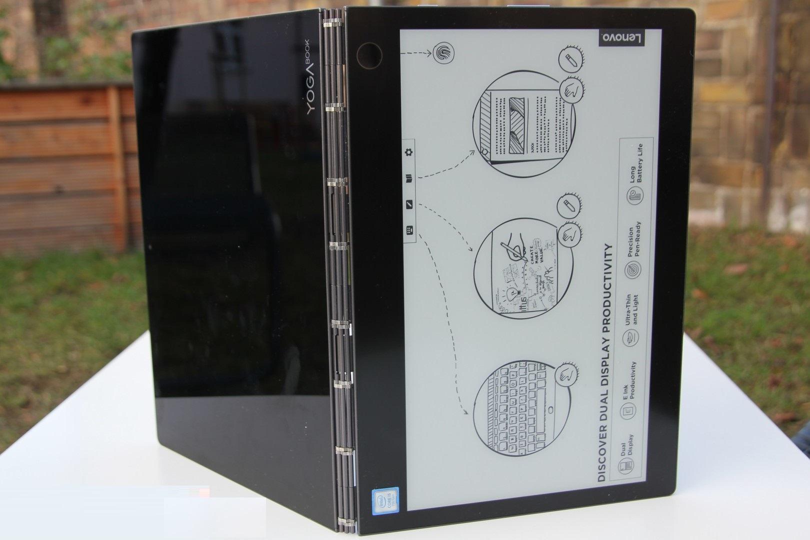 đánh giá Lenovo Yoga Book C930
