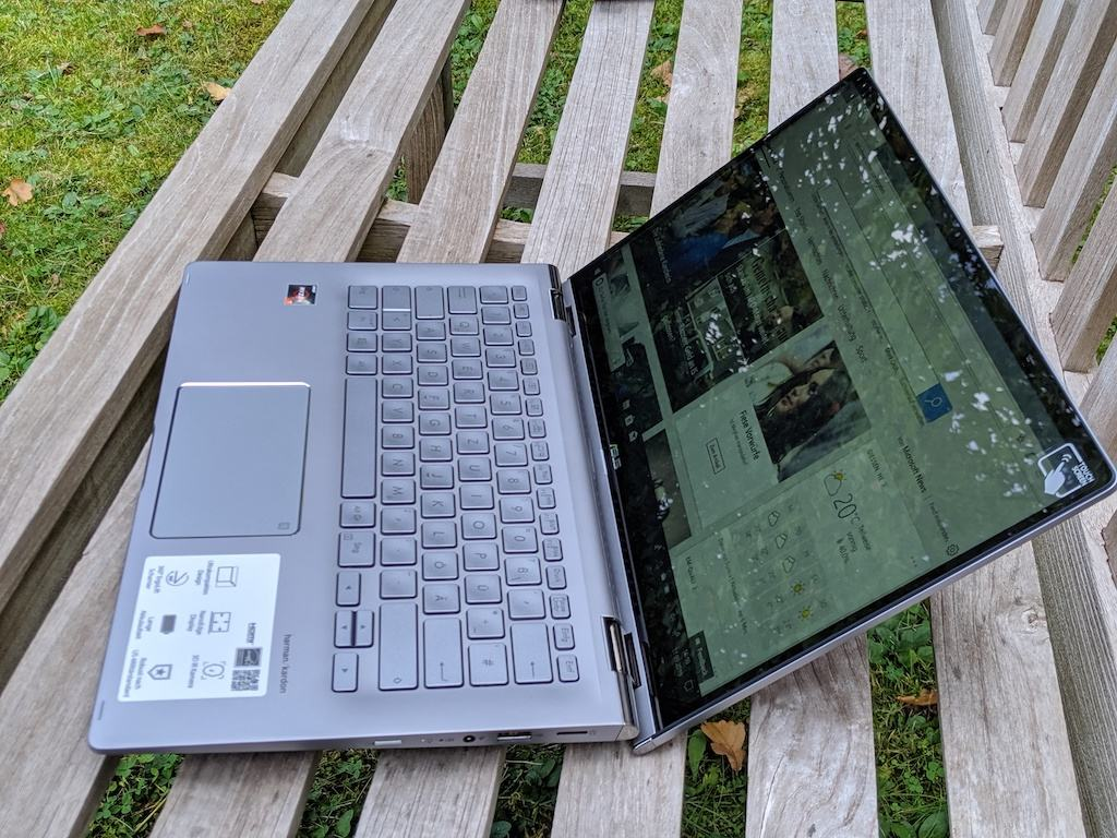 đánh giá laptop ASUS ZenBook Flip 14 UM462DA