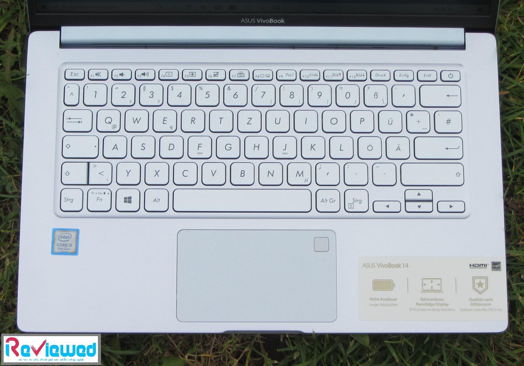 đánh giá Asus Vivobook 14 X403FA