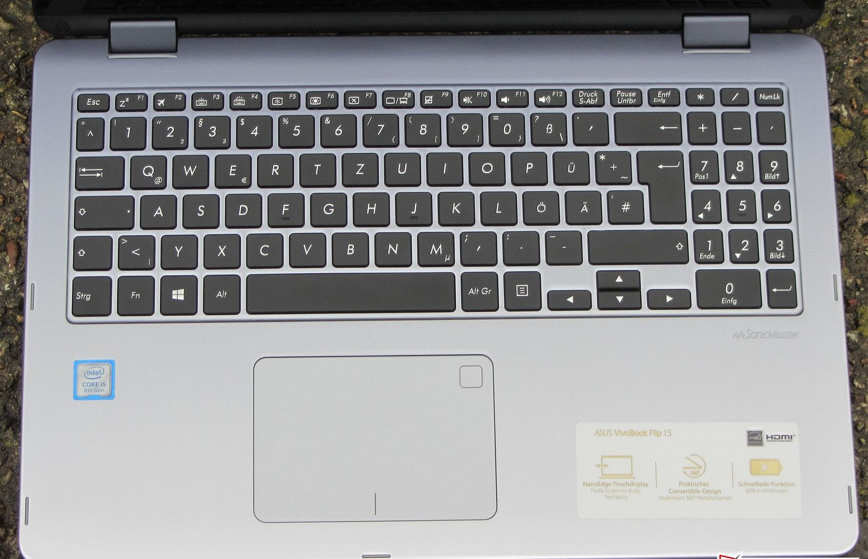 đánh giá Asus VivoBook Flip 15 TP510UA
