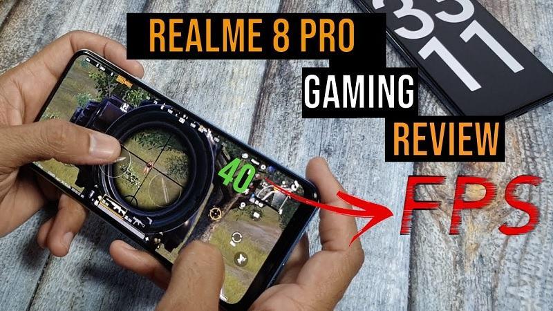 Realme 8 Pro chơi game