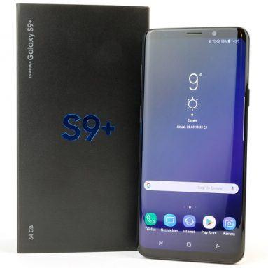 Đánh giá Samsung Galaxy s9 Plus: Camera kép nổi bật