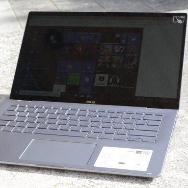 Đánh giá ASUS ZenBook Flip 14 UM462DA: Đa dụng, khó dùng ngoài trời