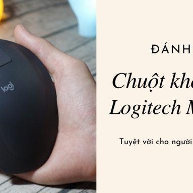 Đánh giá chuột Logitech MX Ergo: Tuyệt vời cho người đau cổ tay