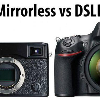 Máy ảnh DSLR là gì? Máy ảnh Mirrorless là gì? DSLR hay Mirrorless?