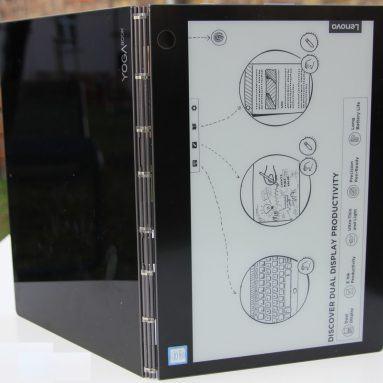Đánh giá Lenovo Yoga Book C930: Laptop 3 in 1 độc đáo