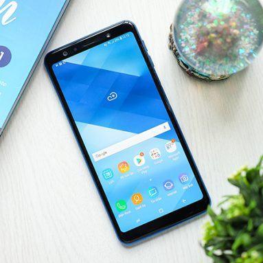 Đánh giá điện thoại Samsung Galaxy A7 (2018)