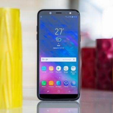 Đánh giá điện thoại Samsung Galaxy A6 (2018)